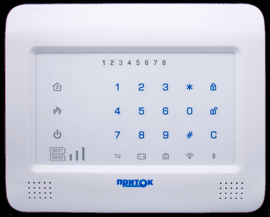 Контроллер охранно-пожарный Приток-А-КОП-04 комплект 1