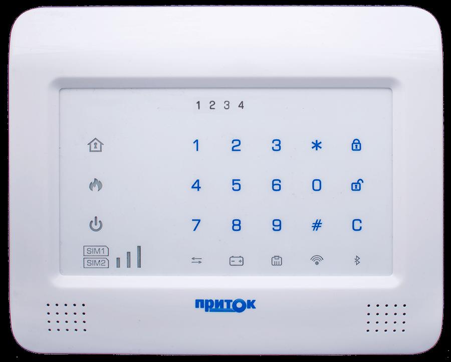 Контроллер охранно-пожарный Приток-А-КОП-04 комплект 4