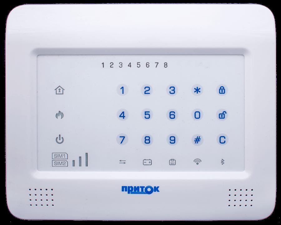 Контроллер охранно-пожарный Приток-А-КОП-04 комплект 7