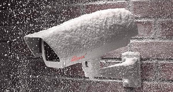 система видеонаблюдения зимой