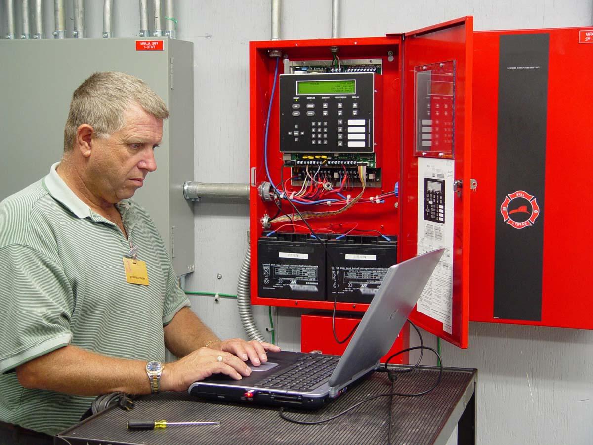 Поддержание системы пожарной сигнализации на объекте в исправном состоянии